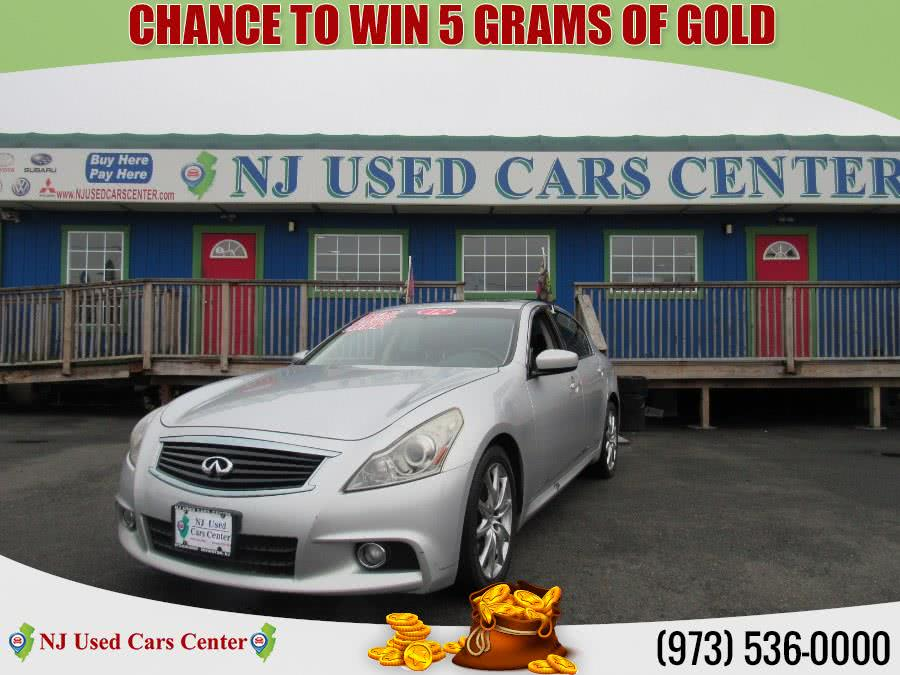 Used 2012 Infiniti G37 Sedan in Irvington, New Jersey | NJ Used Cars Center. Irvington, New Jersey