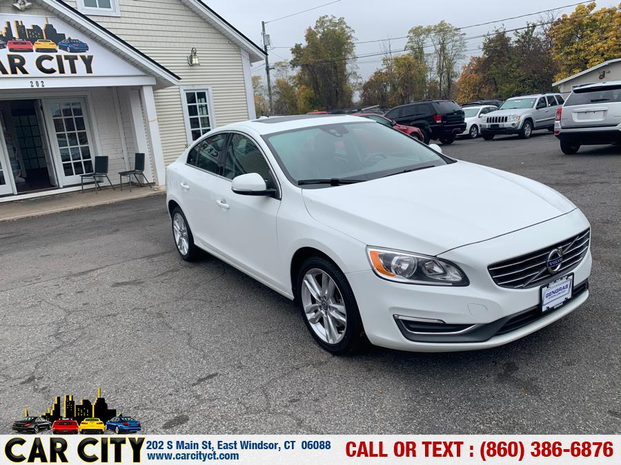 2014 Volvo S60 4dr Sdn T5 Premier Plus FWD, available for sale in East Windsor, Connecticut   Car City LLC. East Windsor, Connecticut