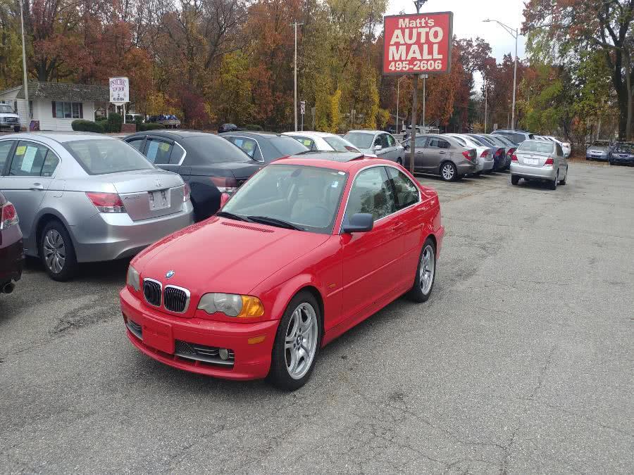 Used 2001 BMW 3 Series in Chicopee, Massachusetts | Matts Auto Mall LLC. Chicopee, Massachusetts