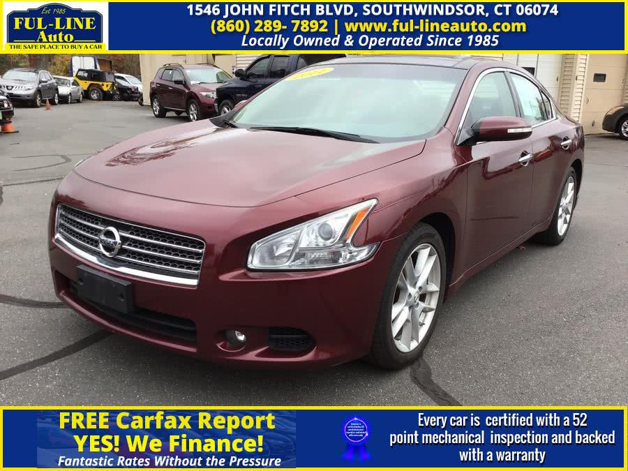 Used Nissan Maxima 4dr Sdn V6 CVT 3.5 SV w/Premium Pkg 2011 | Ful-line Auto LLC. South Windsor , Connecticut