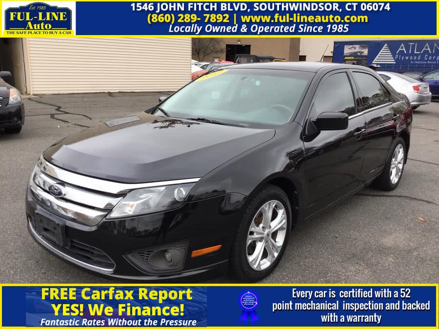 Used Ford Fusion 4dr Sdn SE FWD 2012 | Ful-line Auto LLC. South Windsor , Connecticut
