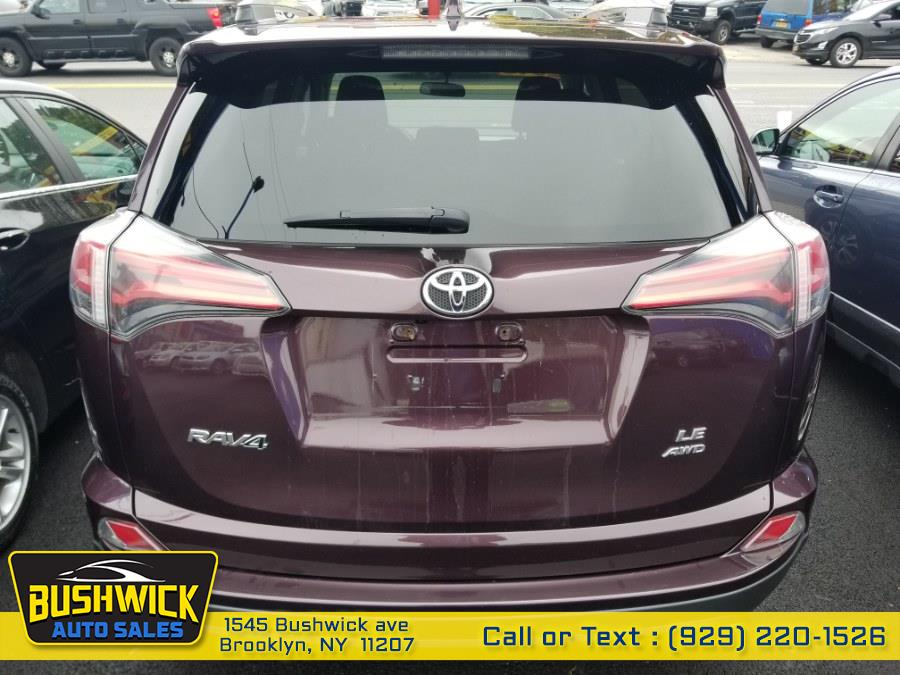 Used Toyota RAV4 AWD 4dr LE (Natl) 2016 | Bushwick Auto Sales LLC. Brooklyn, New York