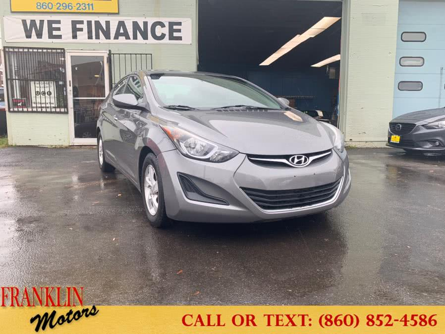 Used 2014 Hyundai Elantra in Hartford, Connecticut | Franklin Motors Auto Sales LLC. Hartford, Connecticut