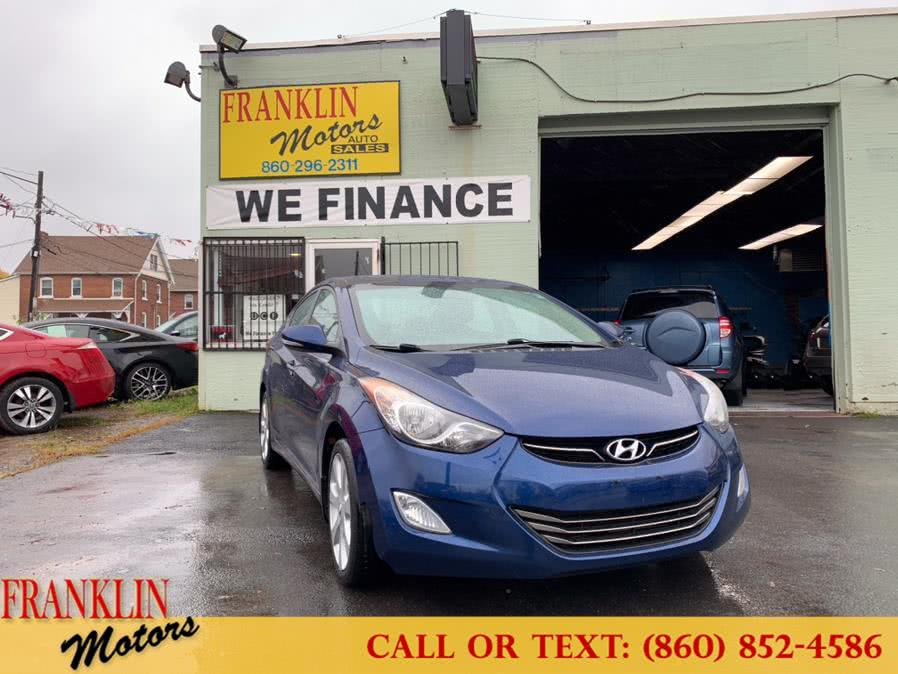 Used 2013 Hyundai Elantra in Hartford, Connecticut | Franklin Motors Auto Sales LLC. Hartford, Connecticut