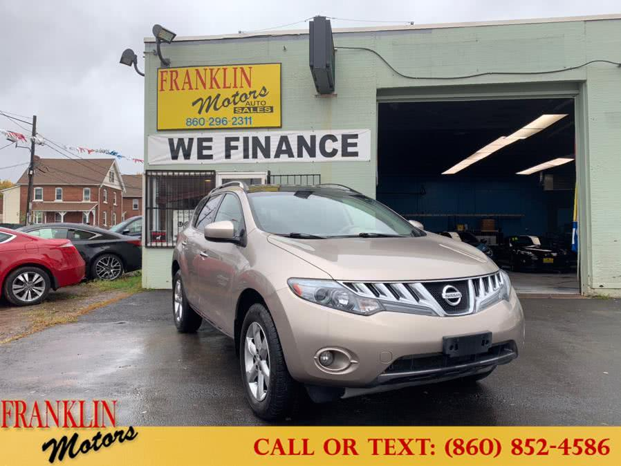 Used 2010 Nissan Murano in Hartford, Connecticut | Franklin Motors Auto Sales LLC. Hartford, Connecticut