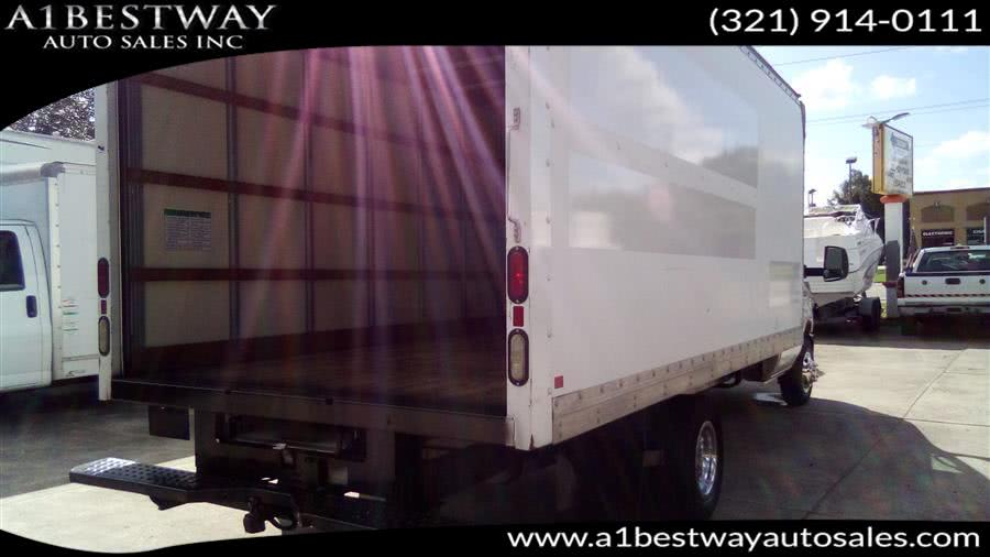 Used Ford E 350 DUALLY 16' BOX 16' BOX VAN 2012 | A1 Bestway Auto Sales Inc.. Melbourne , Florida