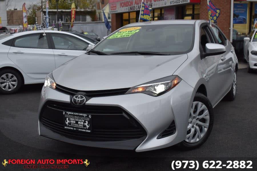 Used Toyota Corolla LE CVT (Natl) 2019 | Foreign Auto Imports. Irvington, New Jersey