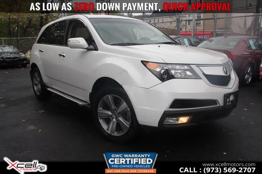 Used 2012 Acura MDX in Paterson, New Jersey | Xcell Motors LLC. Paterson, New Jersey
