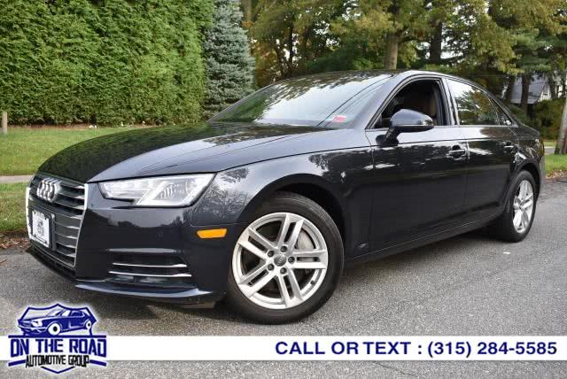 Used Audi A4 2.0 TFSI Premium quattro all-wheel drive 2017 | On The Road Automotive Group Inc. Bronx, New York