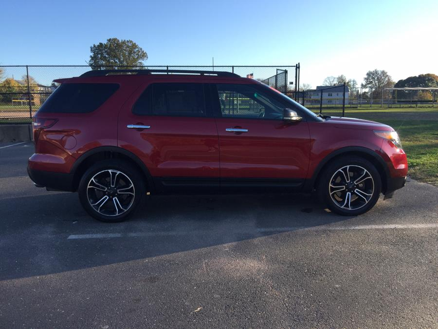 2013 Ford Explorer 4WD 4dr Sport, available for sale in Stratford, Connecticut | Mike's Motors LLC. Stratford, Connecticut