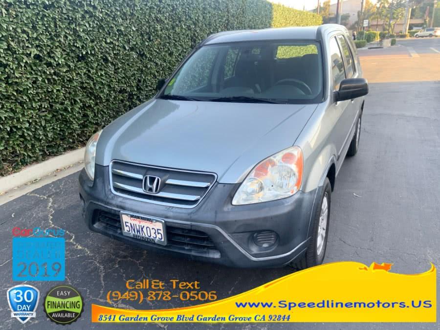 Used 2005 Honda CR-V in Garden Grove, California | Speedline Motors. Garden Grove, California