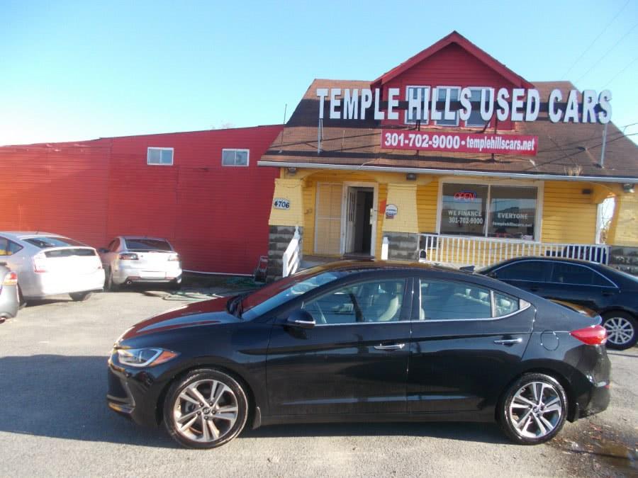 Used Hyundai Elantra Limited 2.0L Auto (Alabama) 2017 | Temple Hills Used Car. Temple Hills, Maryland