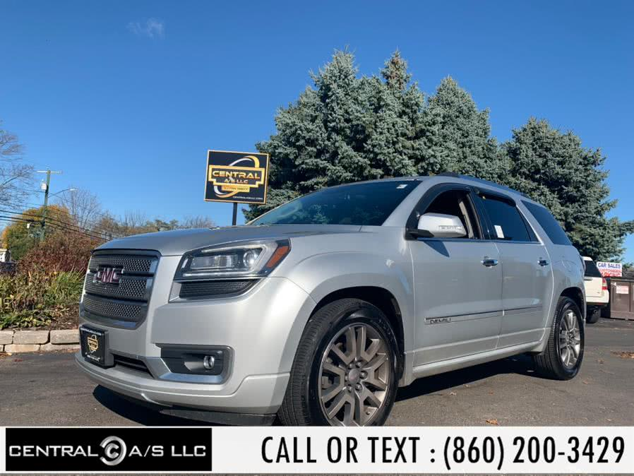 Used GMC Acadia AWD 4dr Denali 2013 | Central A/S LLC. East Windsor, Connecticut