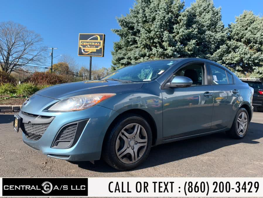 Used Mazda Mazda3 4dr Sdn Auto i Sport 2011 | Central A/S LLC. East Windsor, Connecticut