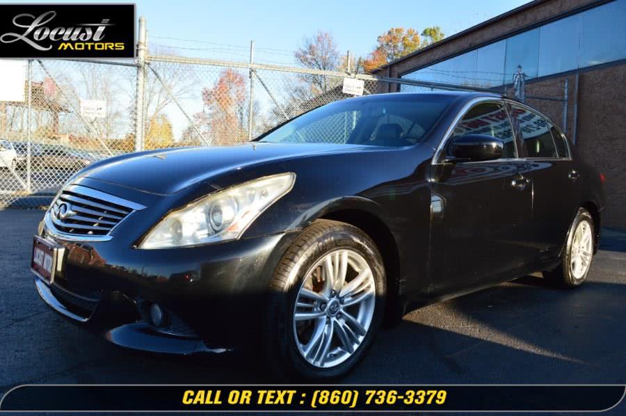 Used 2010 Infiniti G37 Sedan in Hartford, Connecticut | Locust Motors LLC. Hartford, Connecticut