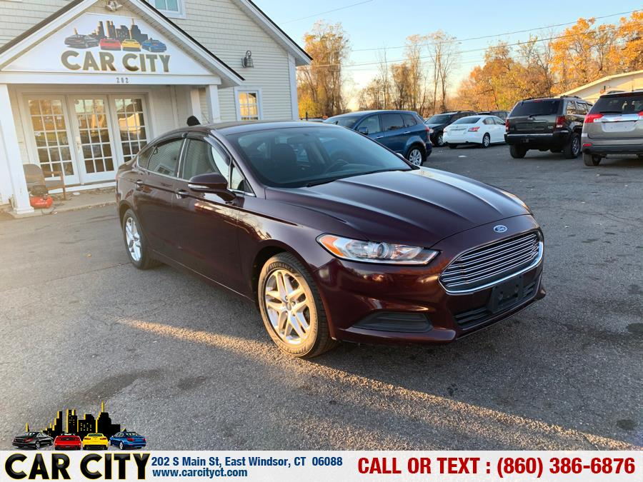 2013 Ford Fusion 4dr Sdn SE FWD, available for sale in East Windsor, Connecticut   Car City LLC. East Windsor, Connecticut