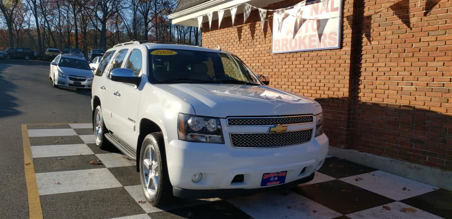 Used Chevrolet Tahoe LTZ 4WD 4dr 1500 LTZ 2008 | National Auto Brokers, Inc.. Waterbury, Connecticut