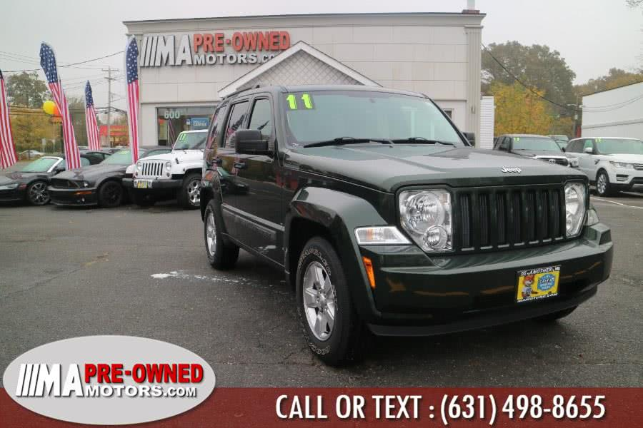 Used Jeep Liberty 4WD 4dr Sport 2011 | M & A Motors. Huntington, New York