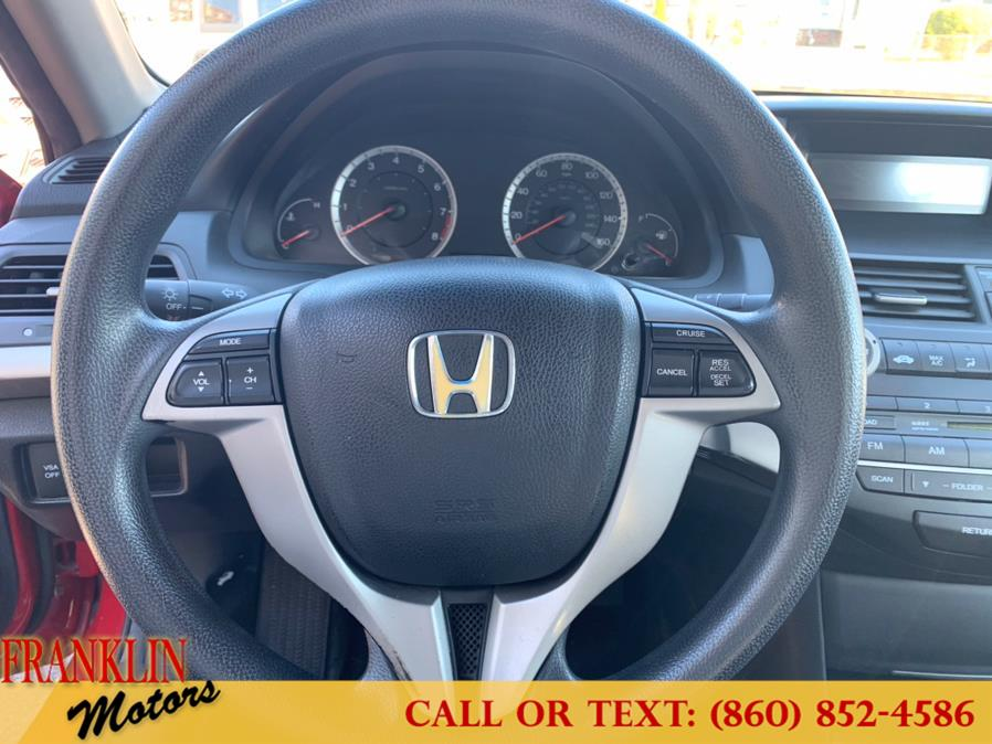 2008 Honda Accord Cpe 2dr I4 Man EX, available for sale in Hartford, Connecticut | Franklin Motors Auto Sales LLC. Hartford, Connecticut