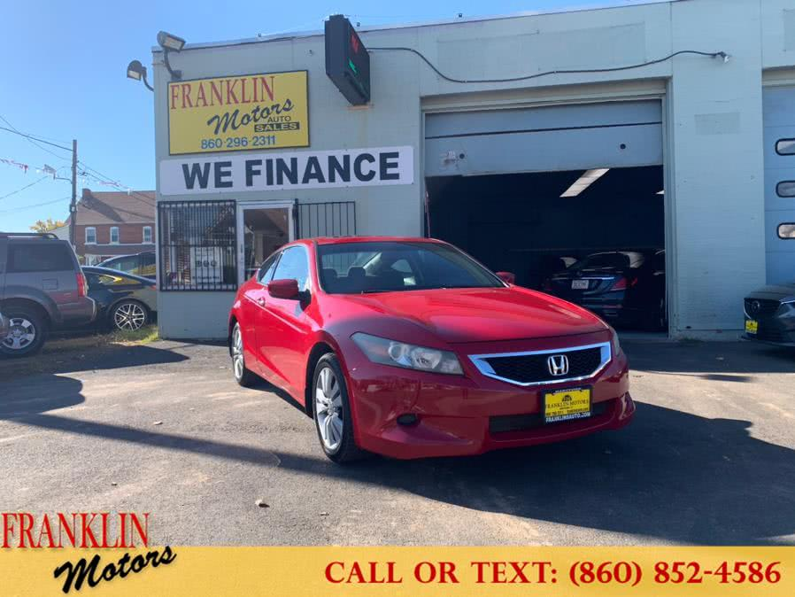 Used 2008 Honda Accord Cpe in Hartford, Connecticut | Franklin Motors Auto Sales LLC. Hartford, Connecticut