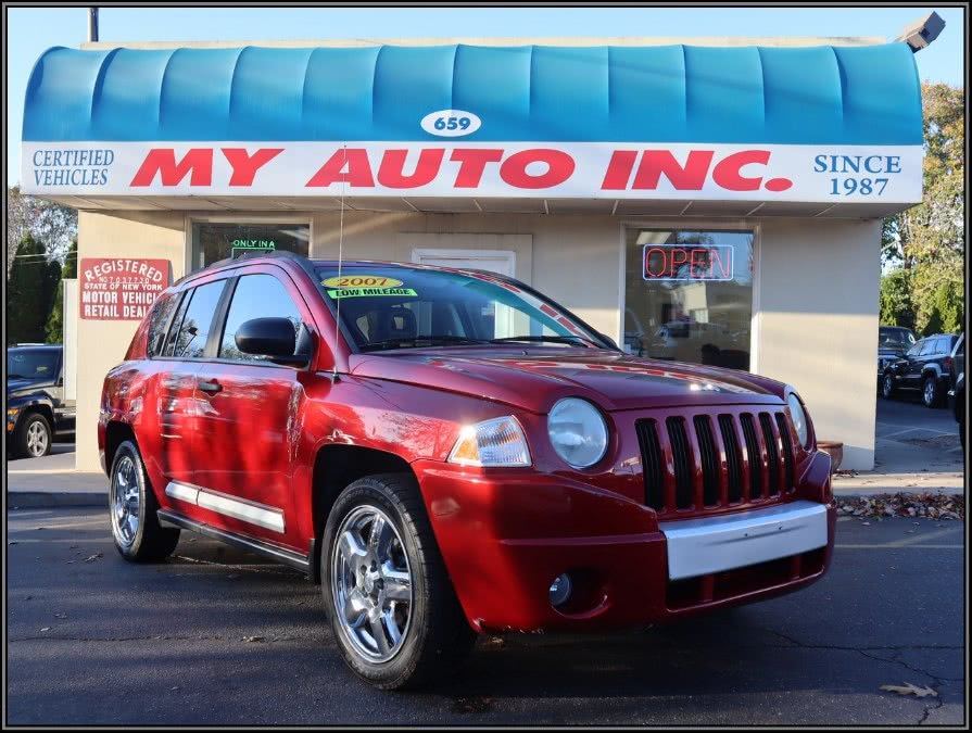 Used Jeep Compass 4WD 4dr Limited 2007 | My Auto Inc.. Huntington Station, New York