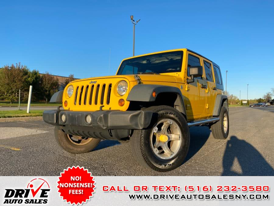 Used 2009 Jeep Wrangler Unlimited in Bayshore, New York | Drive Auto Sales. Bayshore, New York