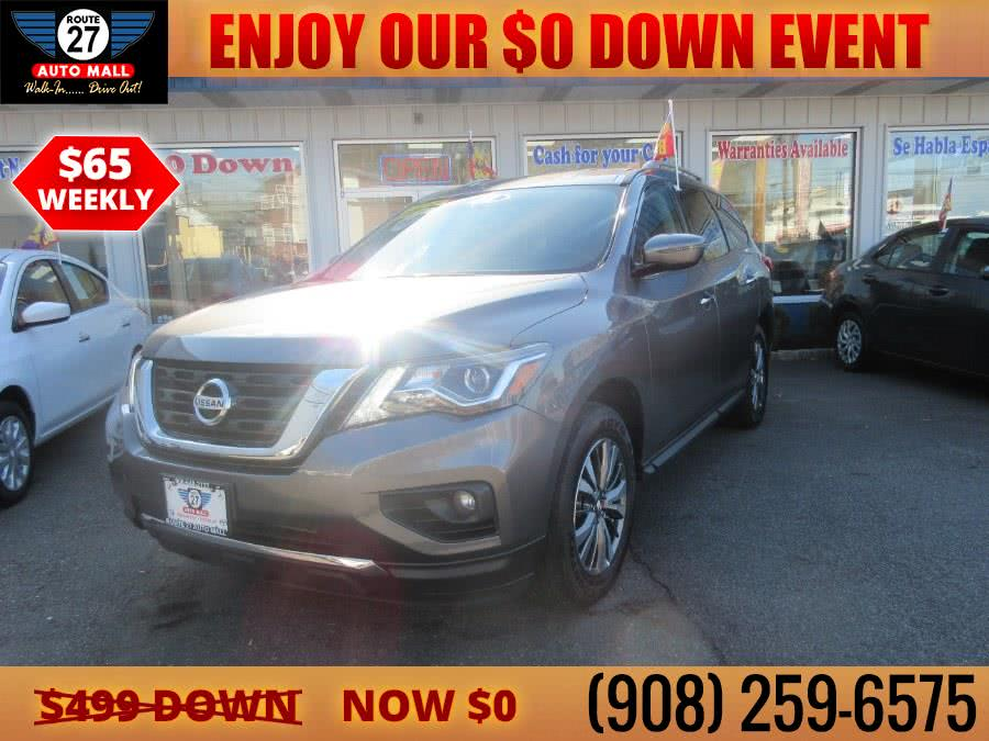 Used 2018 Nissan Pathfinder in Linden, New Jersey | Route 27 Auto Mall. Linden, New Jersey