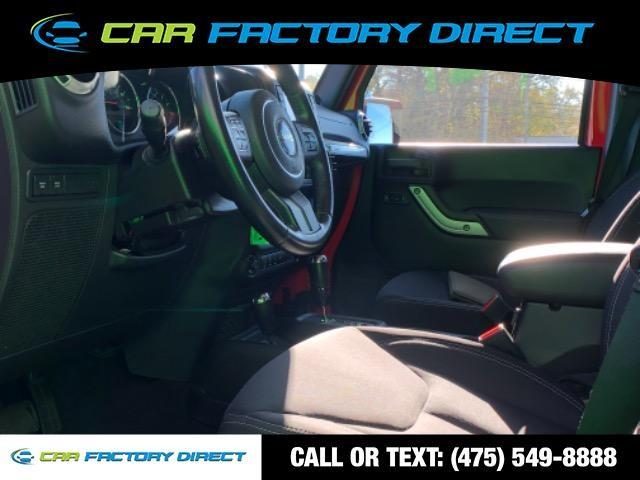 2013 Jeep Wrangler Unlimited Rubicon Navigation 4x4, available for sale in Milford, Connecticut | Car Factory Direct. Milford, Connecticut