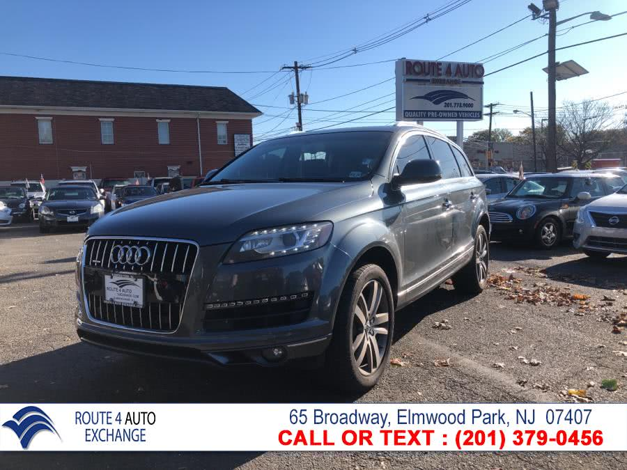 Used 2014 Audi Q7 in Elmwood Park, New Jersey | Route 4 Auto Exchange. Elmwood Park, New Jersey