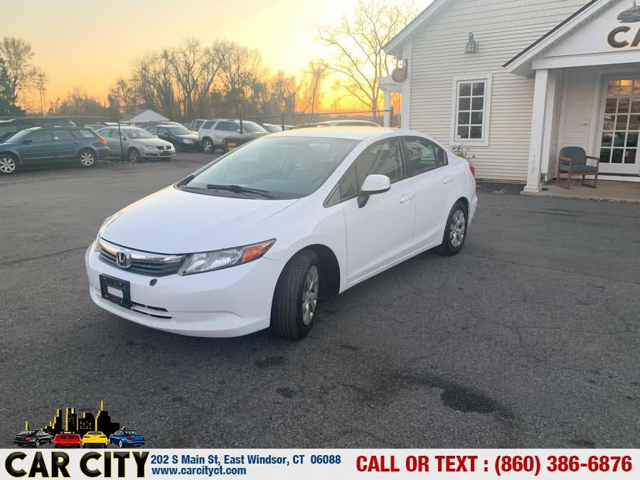 Used 2012 Honda Civic Sdn in East Windsor, Connecticut | Car City LLC. East Windsor, Connecticut
