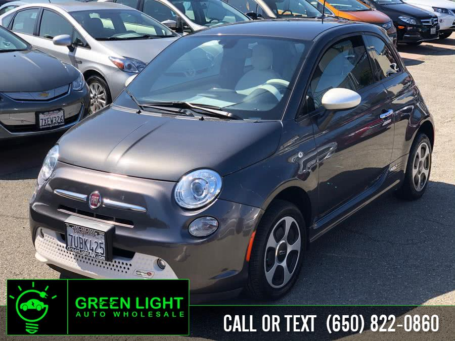 2016 FIAT 500e Steam Interior, available for sale in Daly City, California | Green Light Auto Wholesale. Daly City, California