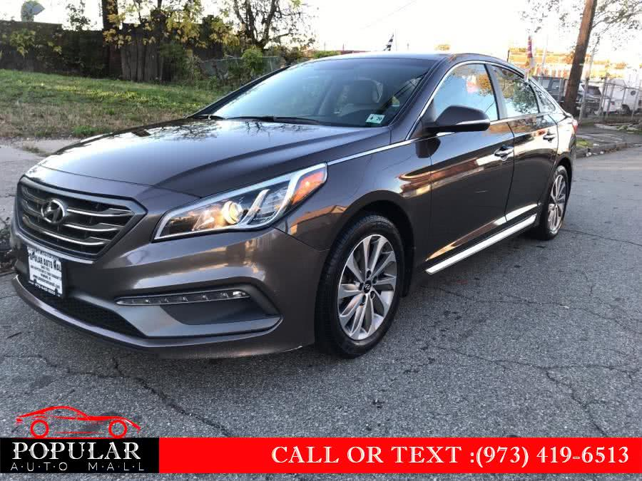 Used 2015 Hyundai Sonata in Newark , New Jersey | Popular Auto Mall Inc . Newark , New Jersey