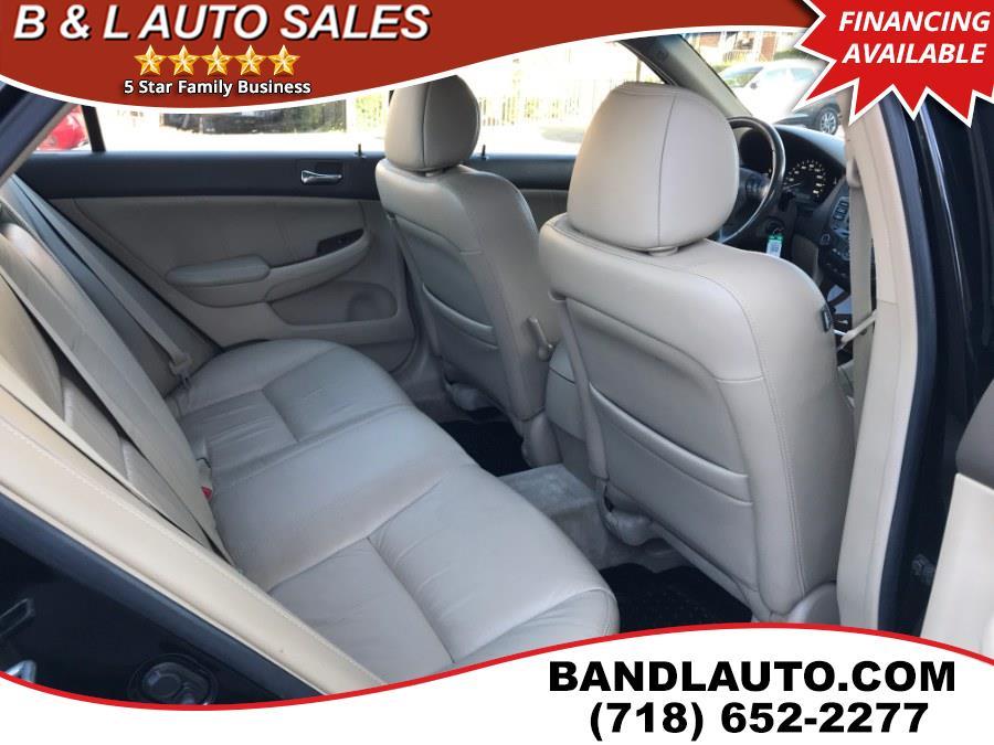 Used Honda Accord Sedan EX-L V6 2006   B & L Auto Sales LLC. Bronx, New York