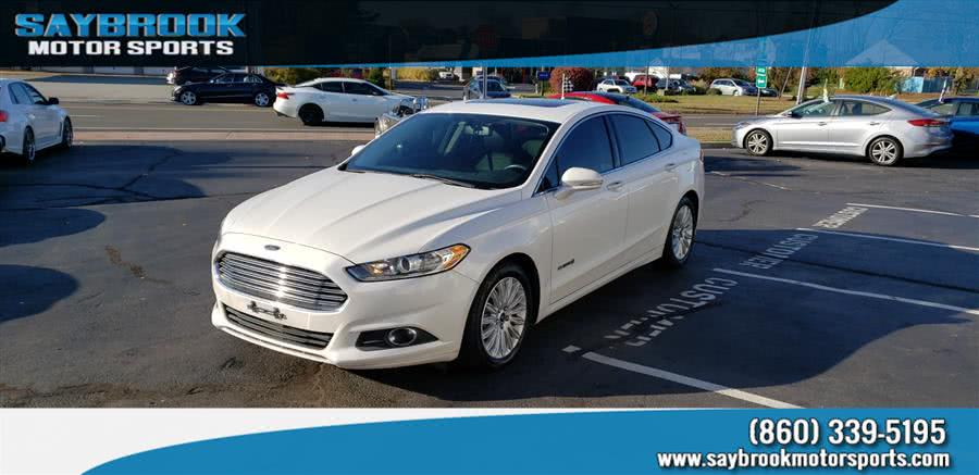 Used Ford Fusion 4dr Sdn SE Hybrid FWD 2015 | Saybrook Motor Sports. Old Saybrook, Connecticut