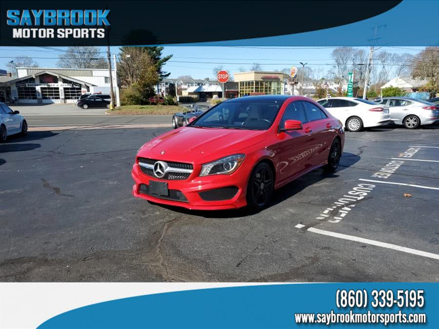 Used Mercedes-Benz CLA-Class 4dr Sdn CLA250 FWD 2014 | Saybrook Motor Sports. Old Saybrook, Connecticut
