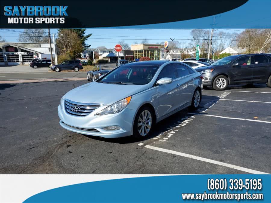 Used Hyundai Sonata 4dr Sdn 2.0T Auto Limited 2012 | Saybrook Motor Sports. Old Saybrook, Connecticut