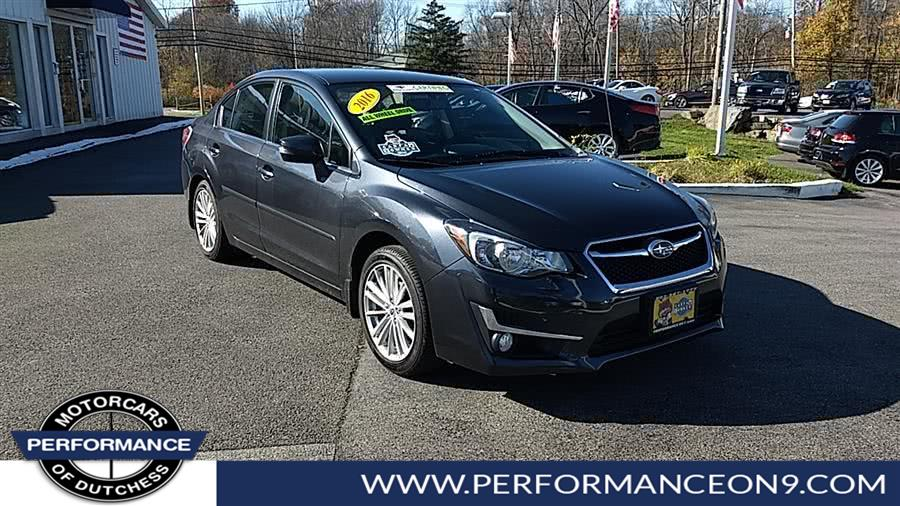 Used 2016 Subaru Impreza Sedan in Wappingers Falls, New York | Performance Motorcars Inc. Wappingers Falls, New York