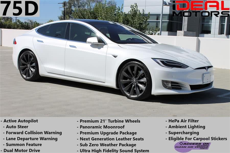 Used Tesla Model s 75D Sedan 4D 2016 | Ideal Motors. Costa Mesa, California