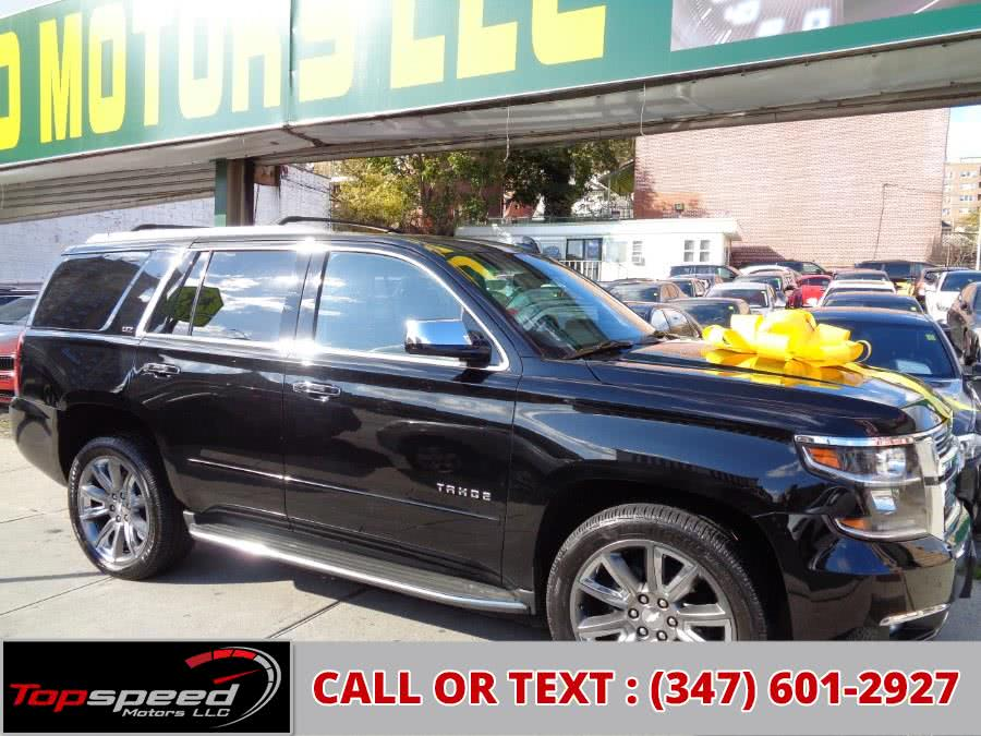 Used 2015 Chevrolet Tahoe 4WD LTZ Navigation Camera Climate Seats Bose in Jamaica, New York | Top Speed Motors LLC. Jamaica, New York