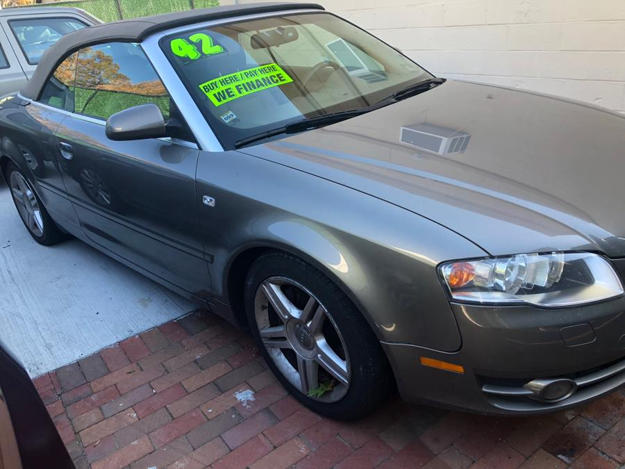 Used Audi A4 2dr Cabriolet Auto 2.0T quattro 2008 | 111 Used Car Sales Inc. Islip, New York