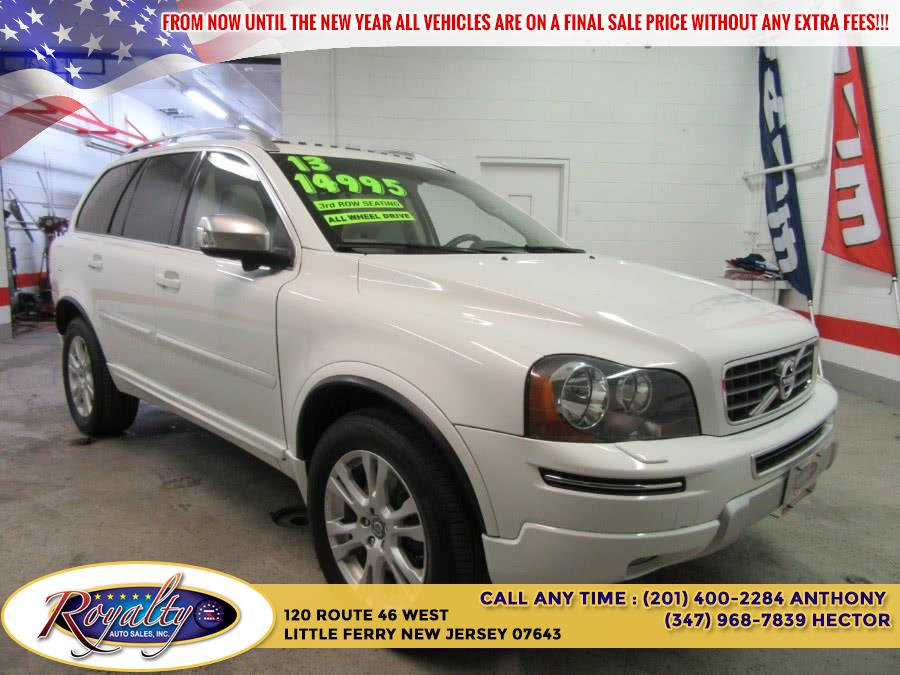2013 Volvo XC90 AWD 4dr Platinum, available for sale in Little Ferry, New Jersey | Royalty Auto Sales. Little Ferry, New Jersey
