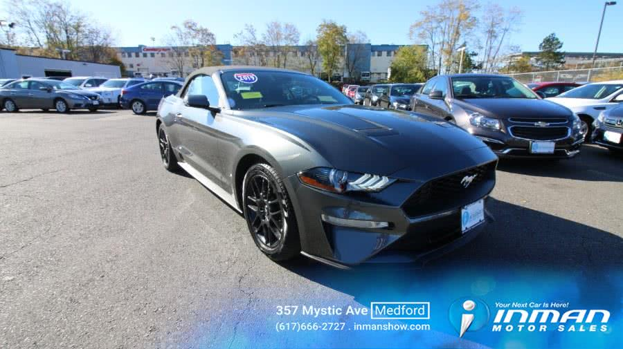 Used 2019 Ford Mustang in Medford, Massachusetts | Inman Motors Sales. Medford, Massachusetts
