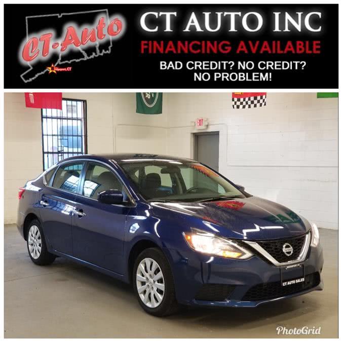 Used Nissan Sentra S CVT 2018 | CT Auto. Bridgeport, Connecticut
