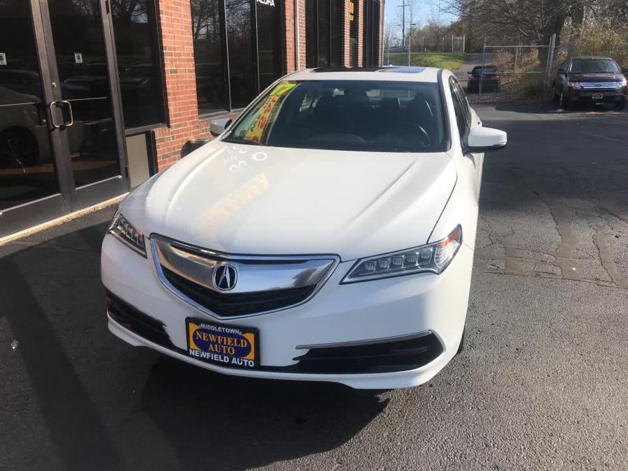 Used 2017 Acura TLX in Middletown, Connecticut | Newfield Auto Sales. Middletown, Connecticut