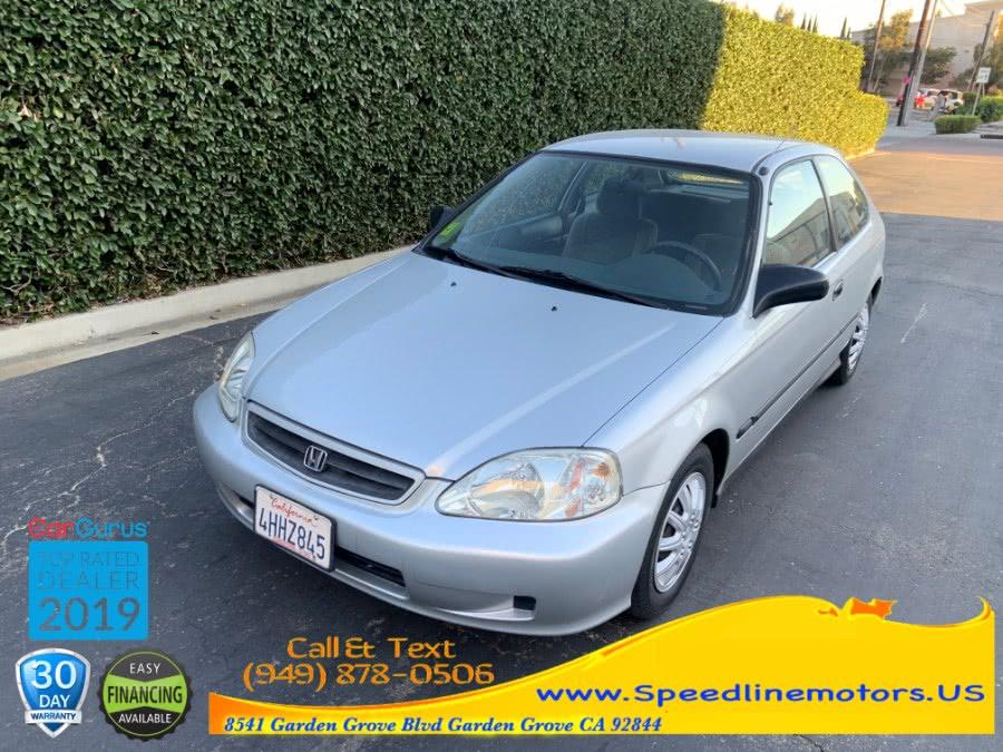 Used 1999 Honda Civic in Garden Grove, California | Speedline Motors. Garden Grove, California