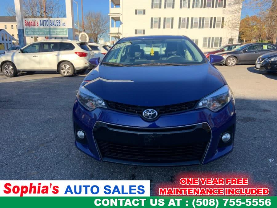 Used 2015 Toyota Corolla in Worcester, Massachusetts | Sophia's Auto Sales Inc. Worcester, Massachusetts