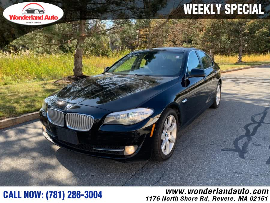 Used 2012 BMW 5 Series in Revere, Massachusetts | Wonderland Auto. Revere, Massachusetts