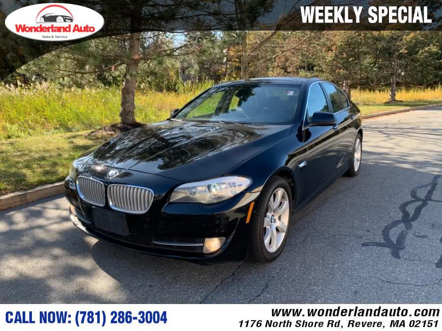 Used 2012 BMW 5 Series in Revere, Massachusetts   Wonderland Auto. Revere, Massachusetts