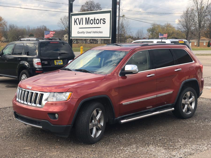 2011 Jeep Grand Cherokee 4WD Overland, available for sale in Davison, Michigan | KVI Motors. Davison, Michigan