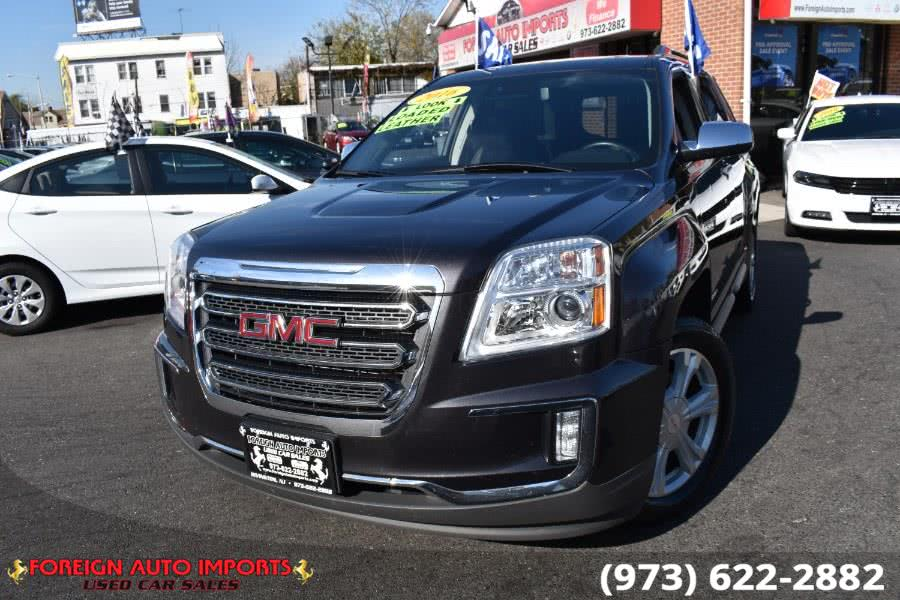Used GMC Terrain FWD 4dr SLT 2016 | Foreign Auto Imports. Irvington, New Jersey